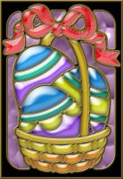 Easter Basket colored by patrx