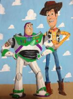 Buzz And Woody by copyninja31