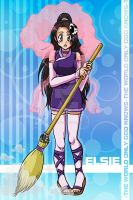 Elsie:The World God Only Knows by kingv
