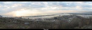 Duluth Sunrise Panorama by dugonline