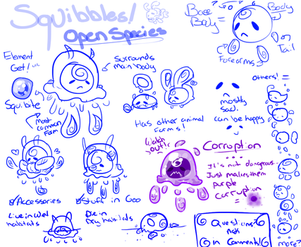 Squibbles Species REF Sheet by Badgerkit