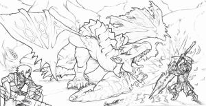 Fell the Rathalos by AIBryce