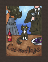 Catmouflage by PookNero