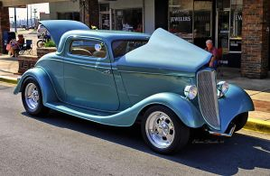 1933 Ford Coupe by E-Davila-Photography