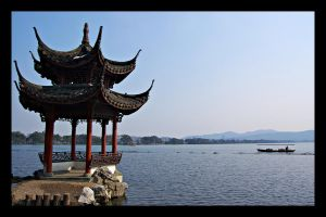 Pavilion on West Lake by sveiki