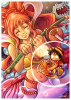 Fishing for the Straw Hat Pirate! by CHOBI-PHO