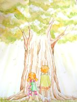 The Giant Tree by Moemai