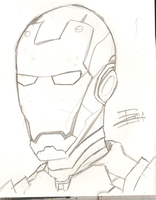IronMan by InvaderZaff