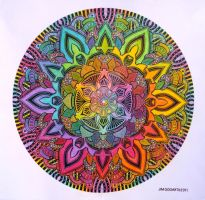 Mandala 10 - Collaboration 2 by Mandala-Jim