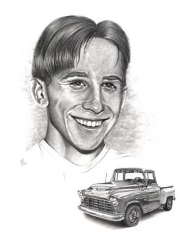Portrait + Truck Commission by bjt