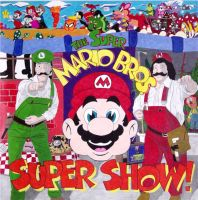 Super Mario Bros Super Show by always1cardshort