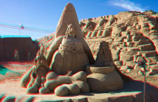 Asterix + Obelix Anaglyph by thomasa88