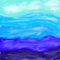 Ocean and Sky by goicesong1