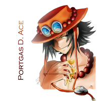 Portgas D. Ace-ver2 by InnocenceShiro