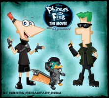PnF:Across The 2nd Dimension by OgroN