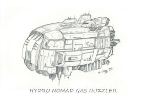 'Hydro Nomad' Gas Guzzler by SARGY001