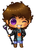 Kyden Chibi Commission by Kattling