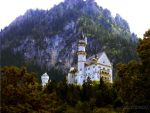 Castle Neuschwanstein by blueMALOU