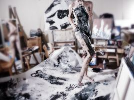 Into the painting. by LisaStockk