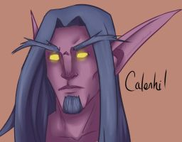 30 min WoW character by lonelion4ever