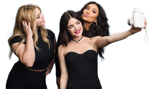Png ft. Pretty Little Liars - Shay, Lucy, Sasha by Andie-Mikaelson