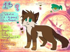 2013 13 Ref Sheet by Applethecat13