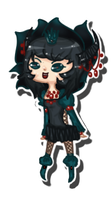Chibi - Queen of Poison Roses by JeanaWei