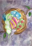 Easter nest by fairychamber