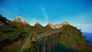 Minecraft: Bridge Mountains (TheRoleplayWorld) by GamerPeons