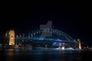 Syd harbour bridge by numsi91