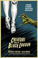 Creature from the Black Lagoon by Hefnatron