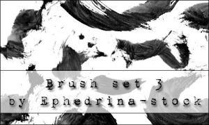 Brushes SET 3 by ephedrina-stock