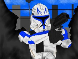 Captain Rex by JediAnakinSkyguy
