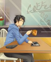 Excuse me, More Coffee Please by Heart-tsukikage