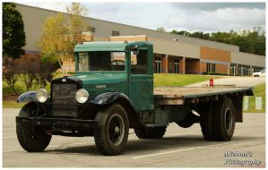 An Old International Flatbed Truck by TheMan268