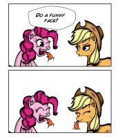 Do a funny face by Odibon