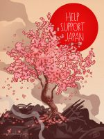 Help Japan Blossom by theartful-dodge