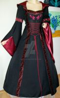 Medieval dress Walda by Azinovic
