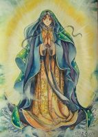 Our lady of guadalupe by Dark-kanita