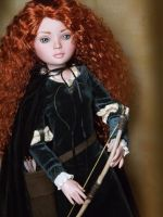 OOAK Brave Merida Doll by ShannonCraven