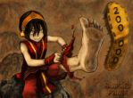 200 000 Toph Break Some Shoes by BanishedPrince-Fans