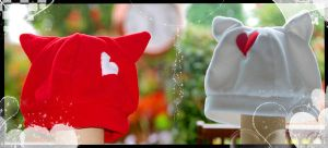 + Heart Hats + by Akiko-Hats