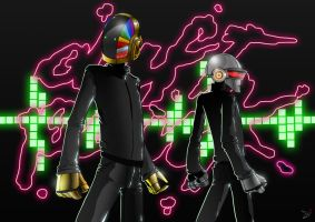 daft punk TWO point FIVE by Agent-87
