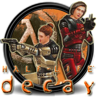 Half life Decay Icono Colette and Gina by Nacho94