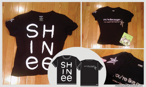 SHINee: Like Oxygen Shirt 2 by mkiseasytospell