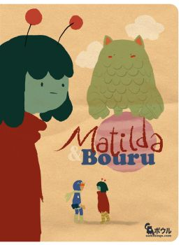 Matilda and Bouru Cover idea by samgarciabd