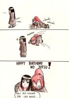 Happy Birthday no jutsu by Tikonka