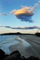 Sunset clouds 2 - Byron Bay by wildplaces