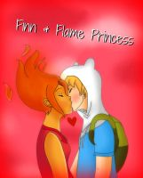 Finn and Flame Princess by GM97
