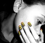 Me and African tribal nail art by Danijella